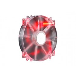 Cooler Master Ventola Mega Flow LED Red da 200 mm, 3 pin, R4-LUS-07AR-GP