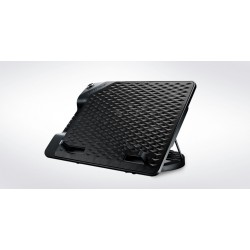 COOLER MASTER NotePal ErgoStand III - metal mesh surface, 230 mm fan, fan speed control, 4 USB ports, 6 height settings