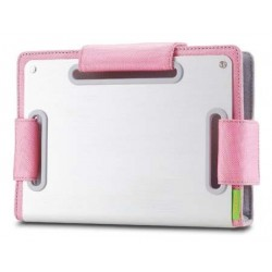 Choiix Custodia per Netbook ERGONOMIC METAL SLEEVE da 7'' a 8.9'', Pink - C-MB01-N1