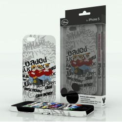 Cover Disney B.Bassotti White iPhone 5 - WDP5-C6