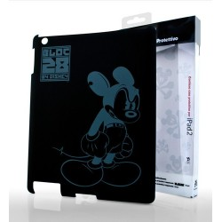 Cover Disney Angry Mickey BLACK iPad 2/New iPad/iPad4 - WDPAD2-C7