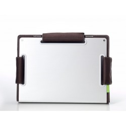 Choiix Custodie per Netbook ERGONOMIC METAL SLEEVE da 12'' a 13'', Brown - C-MB02-C1