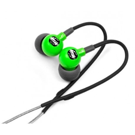 H2O audio Cuffie Waterproof TRAX RUNNER'S, Colore GREEN - TR1-GN
