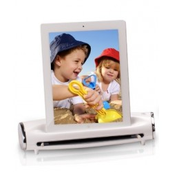 Must Scanner con Docking Station S400 per iPad 1, iPad 2, White, 98-352-10160