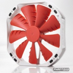 Phanteks Ventola di Raffredamento F140TS RED, Dimensione 140 mm - PH-F140TS_RD