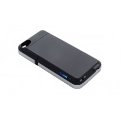 Choiix Caricabatteria Power Fort da 1500 mAh per iPhone 4/4S, Black, C-AP06-K1