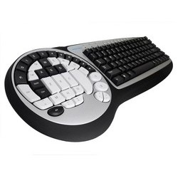 Wolfking Tastiera TIMBERWOLF GAMING 2 in 1 Game Pad   Tastiera, DK-2588UH
